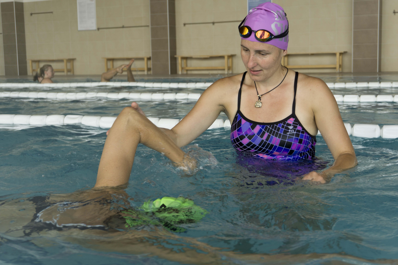 Výuka plavání pro dospělé